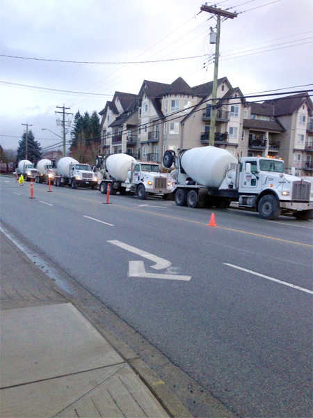 Condo Development - Vancouver Ready Mix