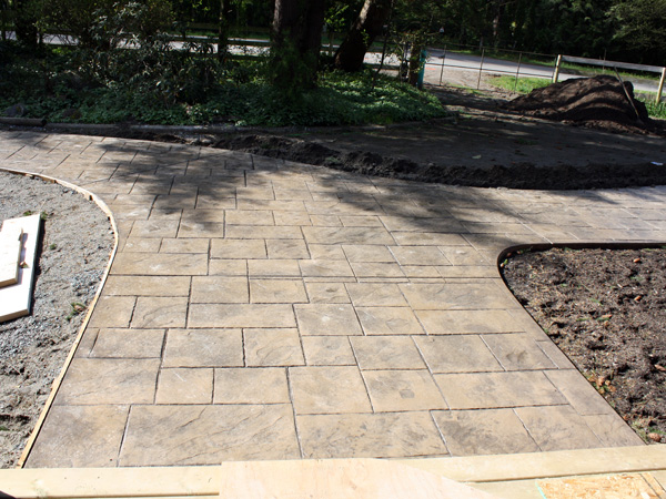 Stamped and decorative concrete by Vancouver Ready Mix