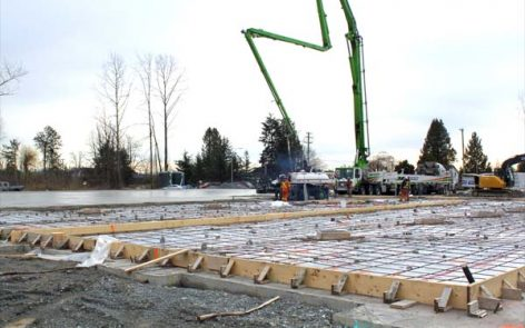 Surrey Banquet Hall Construction by Vancouver Ready Mix